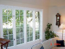 living room and patio doors repainted